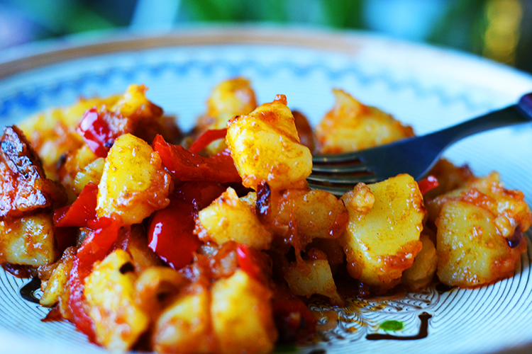 Rustic Potatoes with Paprika