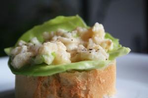Salata de peste cu maioneza