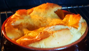 Cartofi dulci gratinati