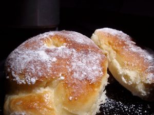 Baked Fluffy donuts