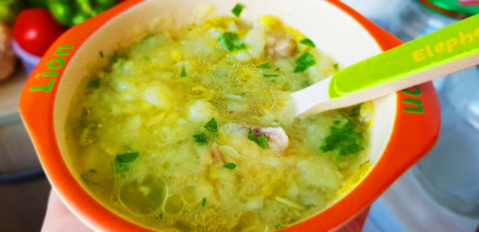 supa de legume cu pui